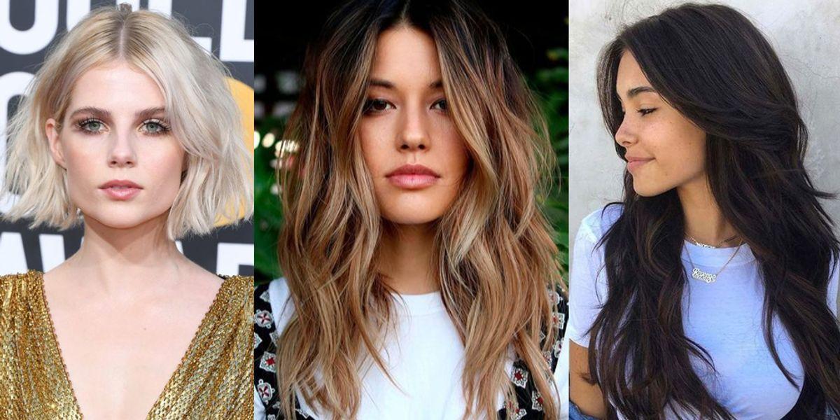 Cortes modernos y con mucho movimiento para mujeres de cabello fino