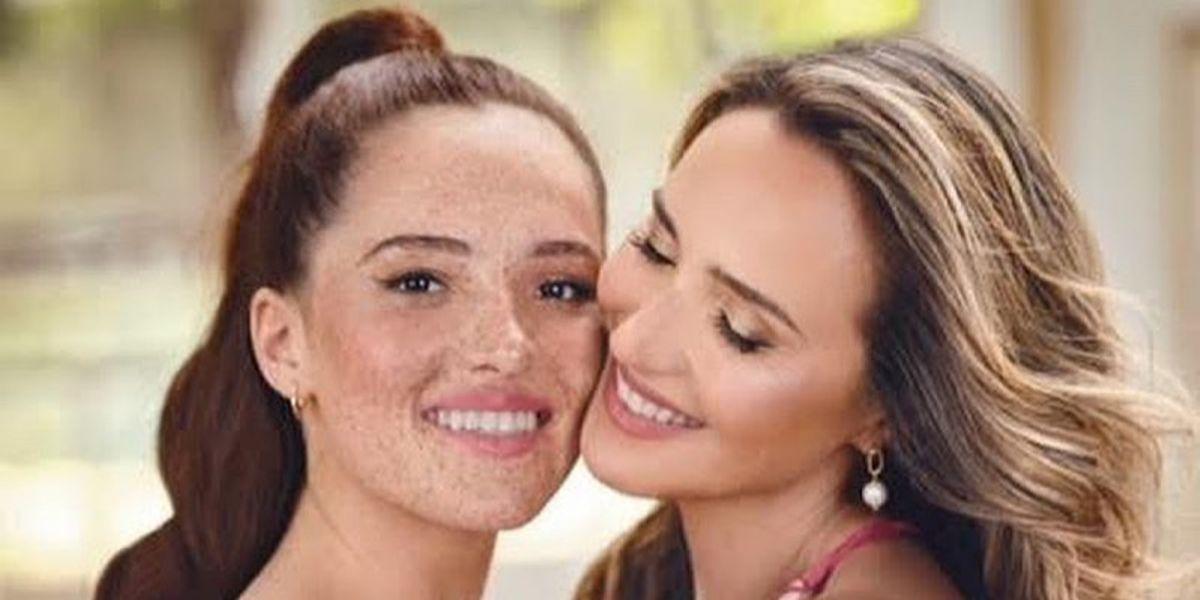 """Angélica Castro comparte adorable foto del recuerdo junto a su hija Laura cuando era una bebé: """"Muero de amor"""""""