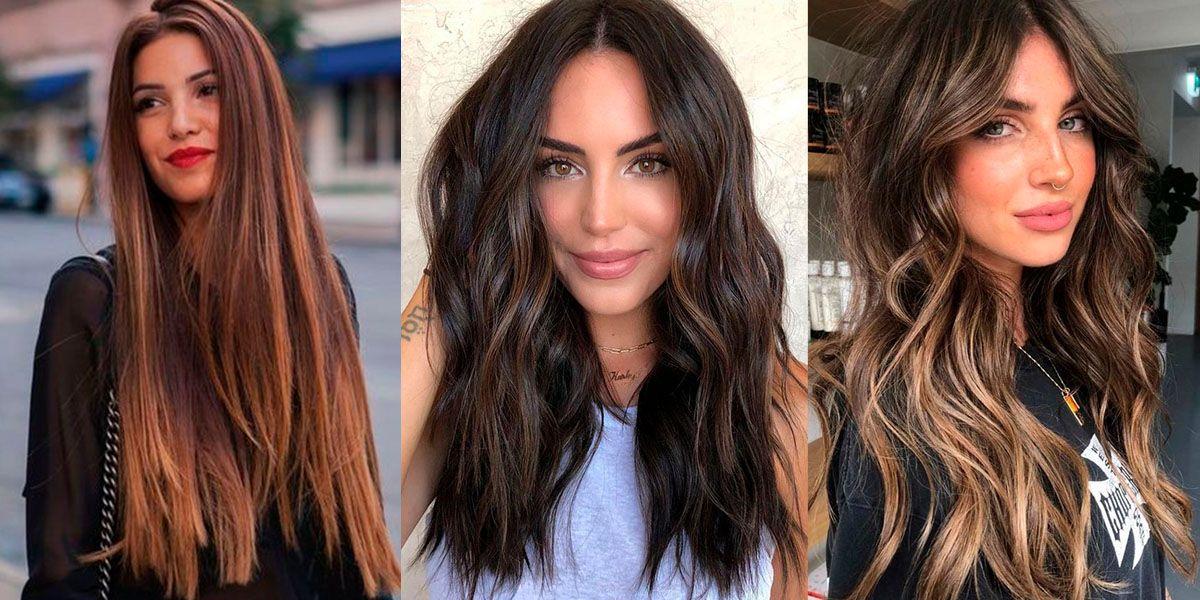 Cortes de cabello largo, elegantes y joviales para renovar tu imagen en el otoño