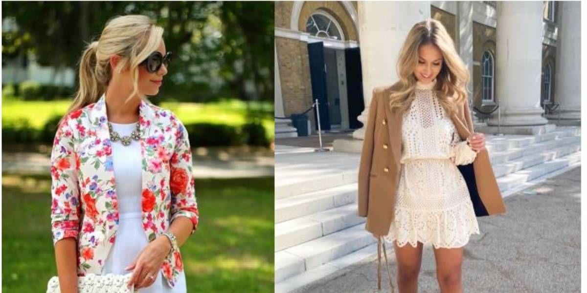 Los blazer son una obsesión y te mostramos cómo llevarlos con vestidos este verano/otoño