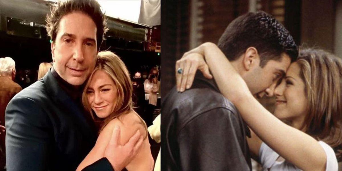 Así reaccionaron los fans de Friends tras los rumores de romance entre Jennifer Aniston y David Schwimmer