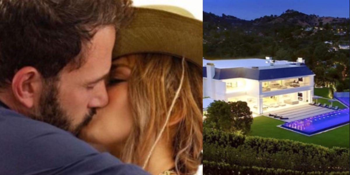Así es la lujosa mansión que podrían compartir Jennifer Lopez y Ben Affleck
