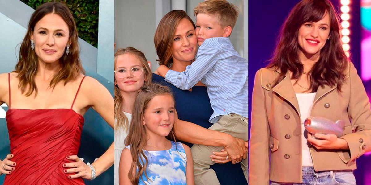 Jennifer Garner muestra su look de mamá en casa y prueba que no todo es glamour