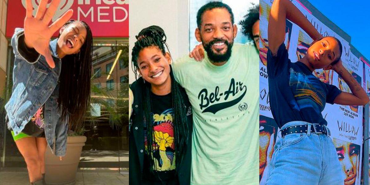 Hija de Will Smith presume su afro como nunca y muestra lo orgullosa que está de su cabello