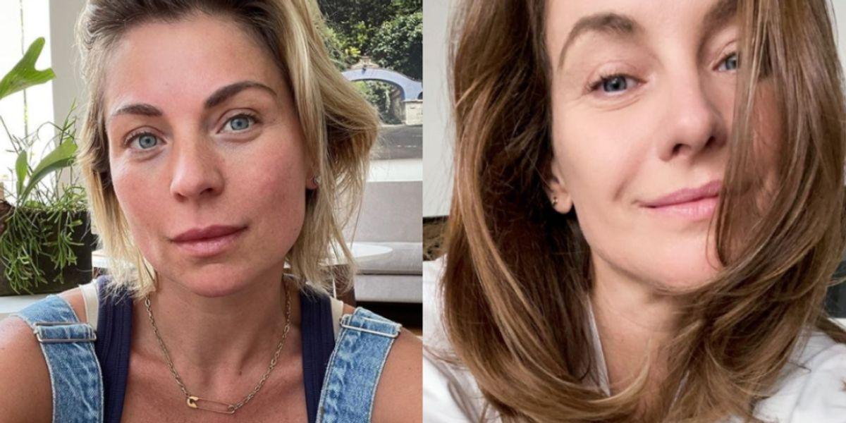 Ludwika y Dominika Paleta dan lecciones sobre dejar descansar tu piel del maquillaje