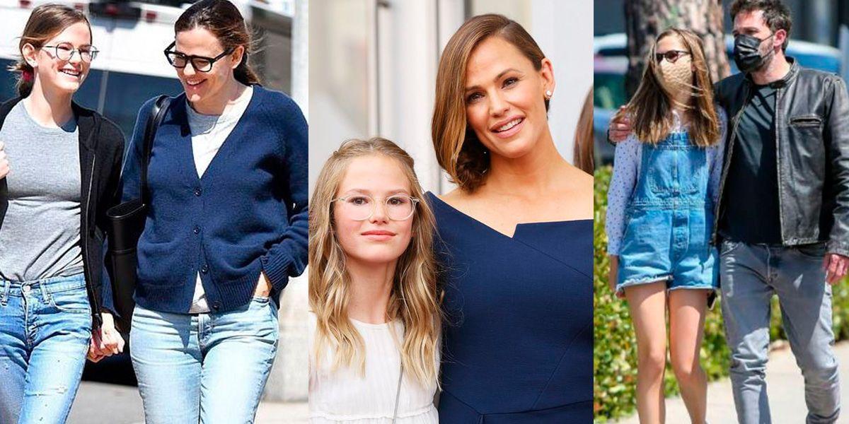 Los looks elegantes con los que la hija mayor de Jennifer Garner y Ben impone tendencias