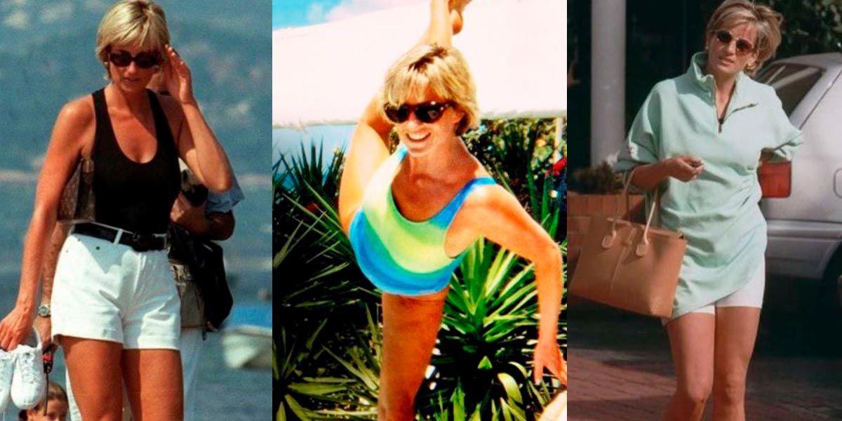 Lady Di nos enseñó cómo lucir como una reina en la playa con bikinis enterizos