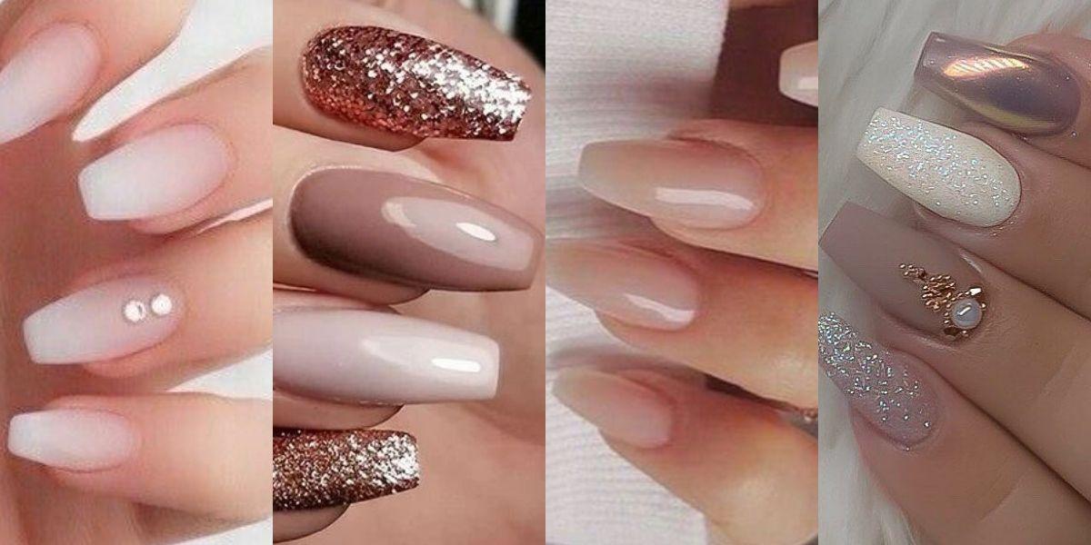 Las uñas punta coffin son la tendencia del verano más sofisticada que deberías probar