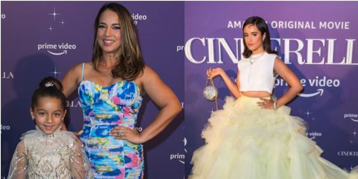 Adamari Lopez  junto a su hija y Camila Cabello, posaron como todas unas princesas