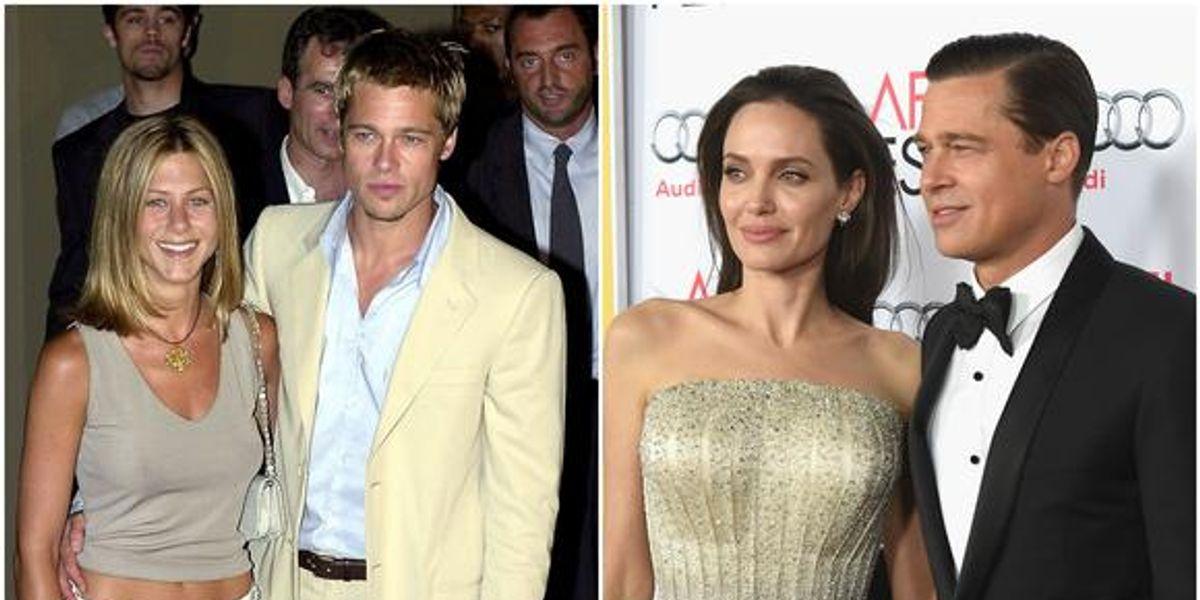Las dos realidades de Brad Pitt: Entre los elogios de Jennifer Aniston y las acusaciones de Angelina Jolie