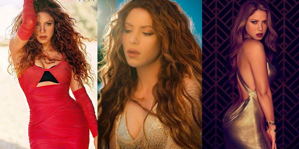 Shakira impone tendencias para mujeres de 40 con mini vestido floreado