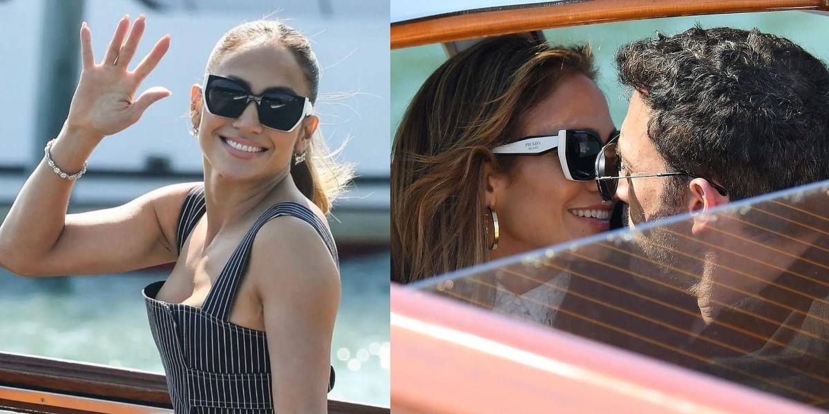Jennifer Lopez y Ben Affleck presumen su amor por todo lo alto en Venecia