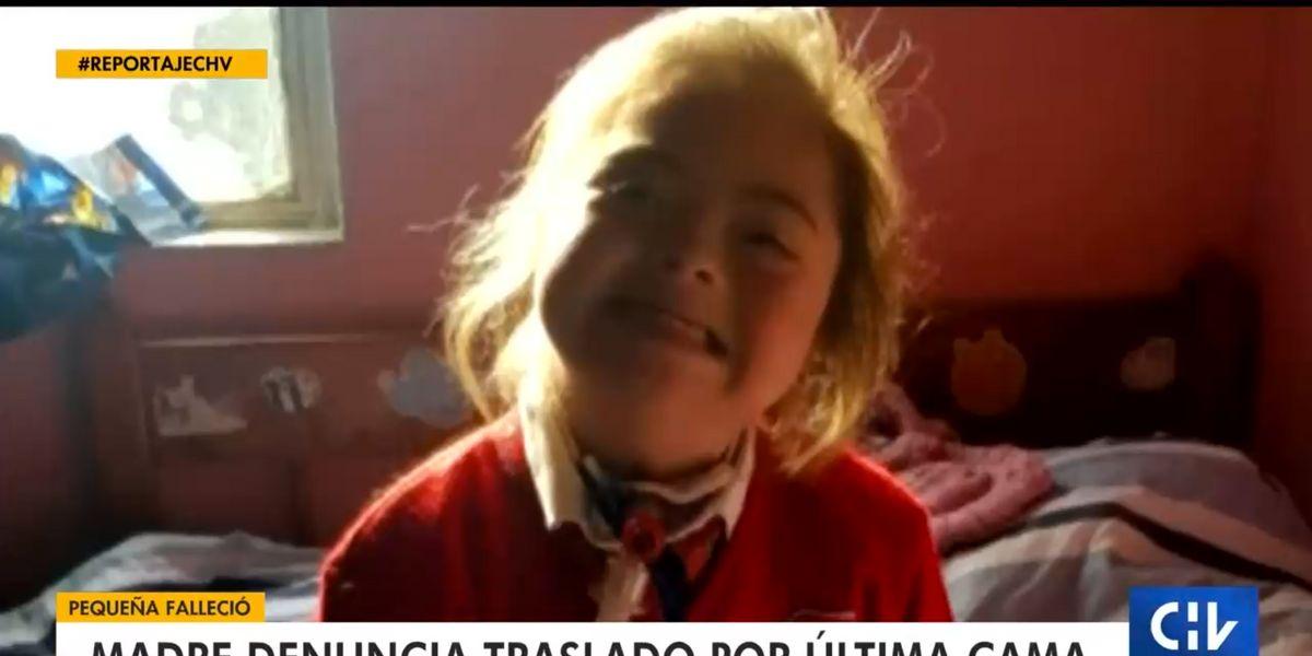 Menor de 14 años falleció tras ser trasladada de Santiago a Chillán para liberar una cama