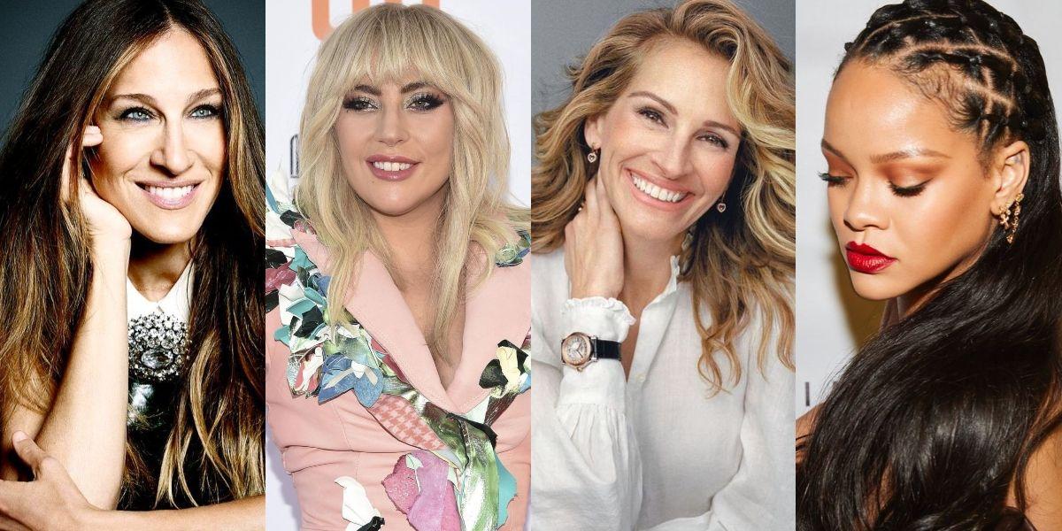 Lady Gaga y otras famosas prueban que las narices grandes también son hermosas
