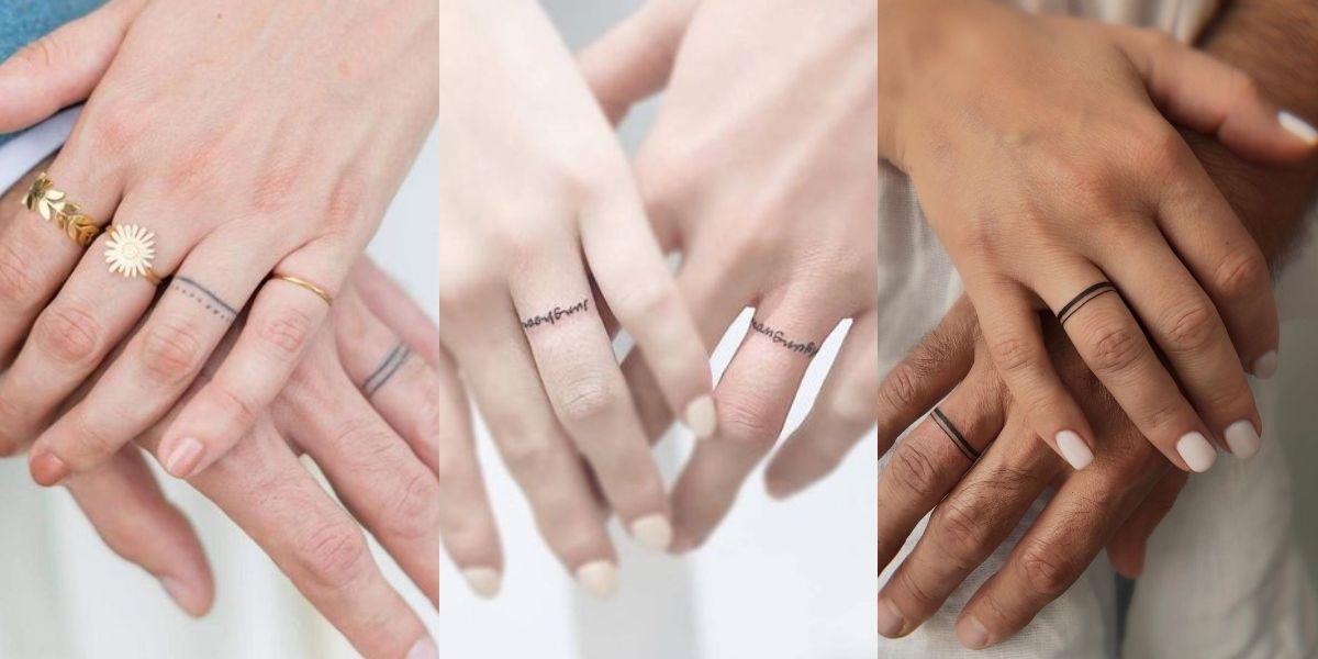 Tatuajes de anillos para las que quieren un diseño discreto y muy femenino