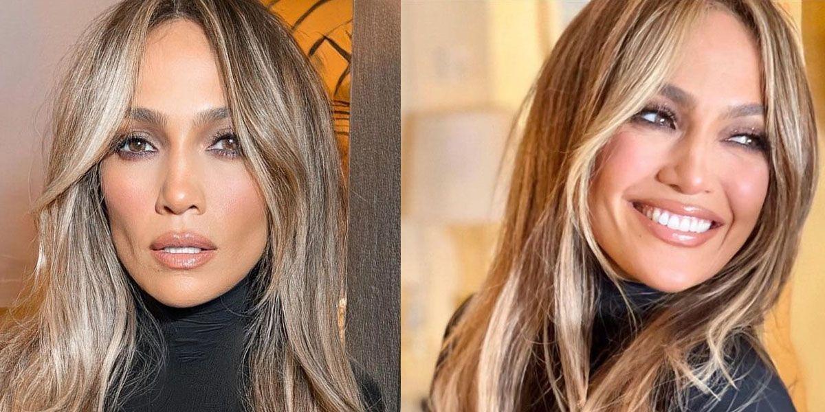 Jennifer Lopez es un ejemplo de elegancia en vestido camisero con estampado de lunares
