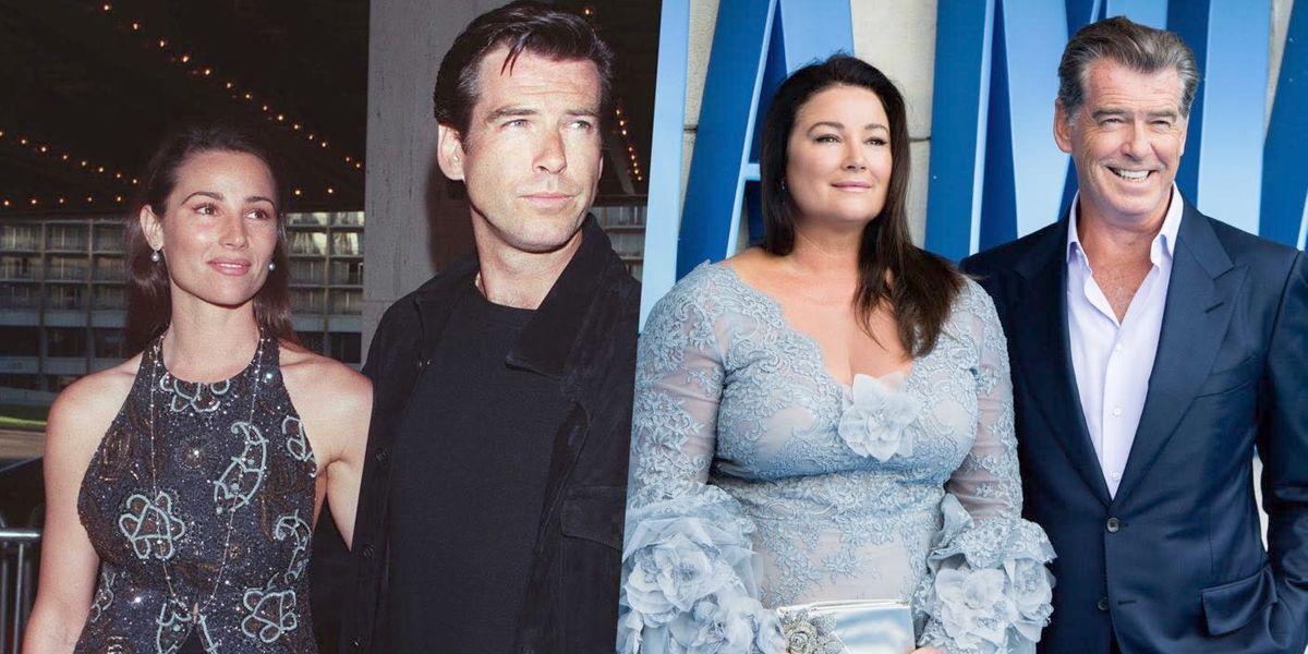 Pierce Brosnan defiende a su esposa de los que critican su peso y le sugieren una liposucción