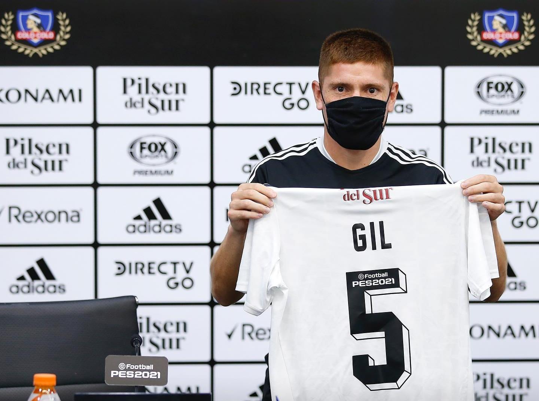 Leonardo Gil fue presentado en Colo Colo y podría jugar ante la UC