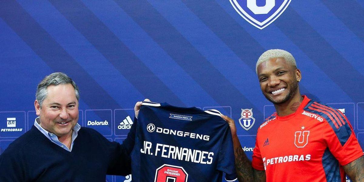 """Junior Fernandes avisa en la U: """"Estoy al 100% para el Superclásico"""""""