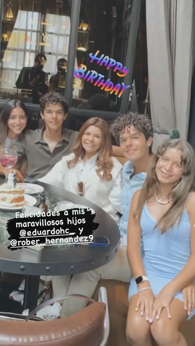 Hijos de Itatí Cantoral
