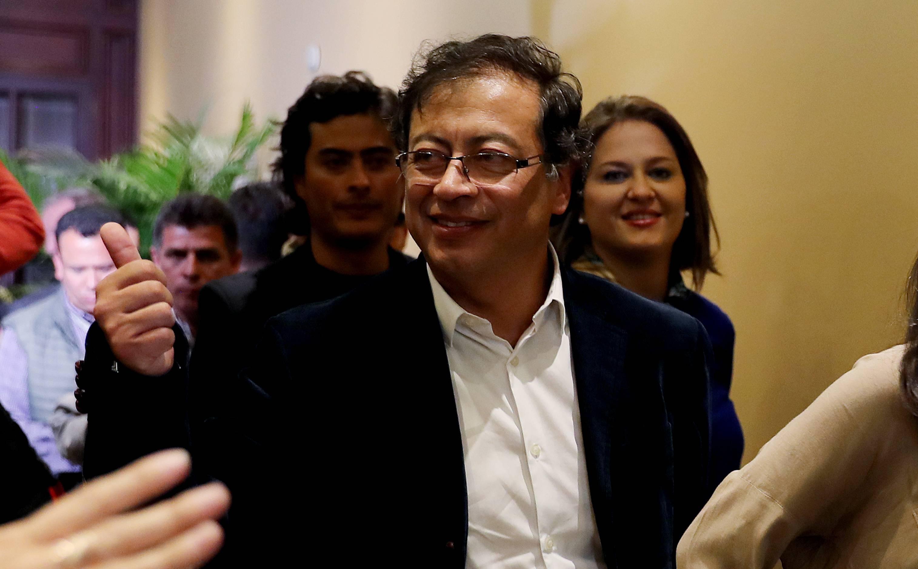 CONGRESO DE COLOMBIA: Foto de Gustavo Petro en el Capitolio se hace viral