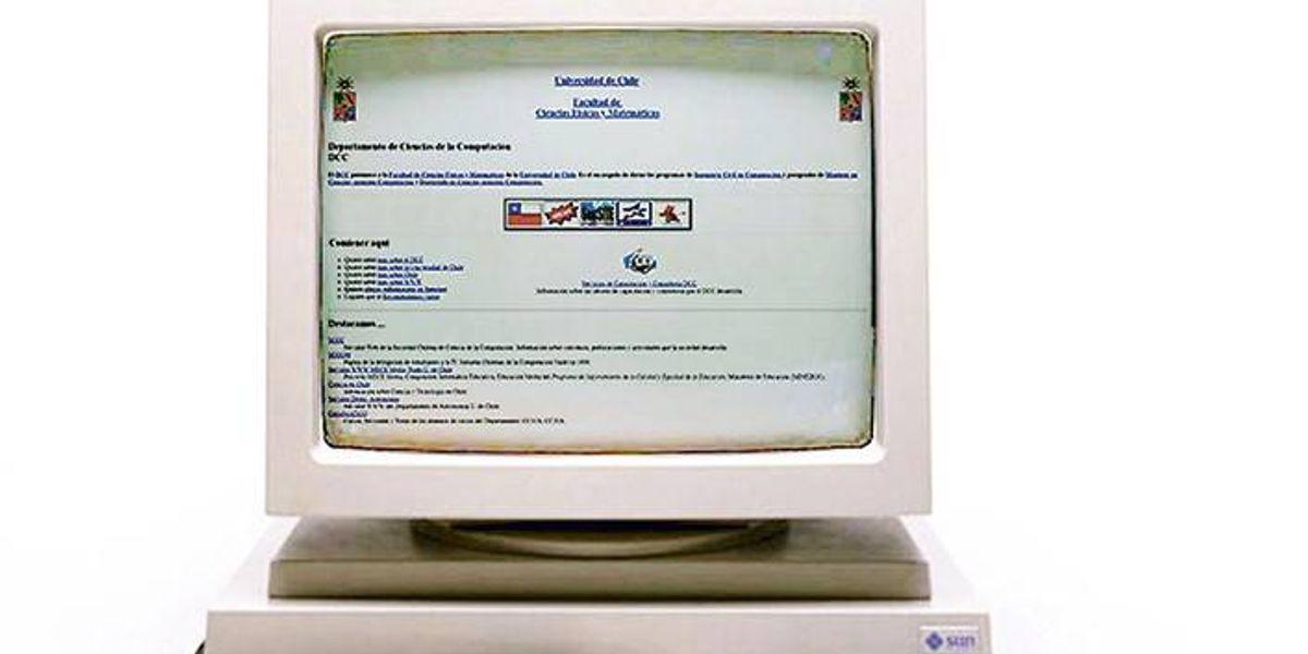 El primer sitio web chileno ya tiene 25 años de existencia /