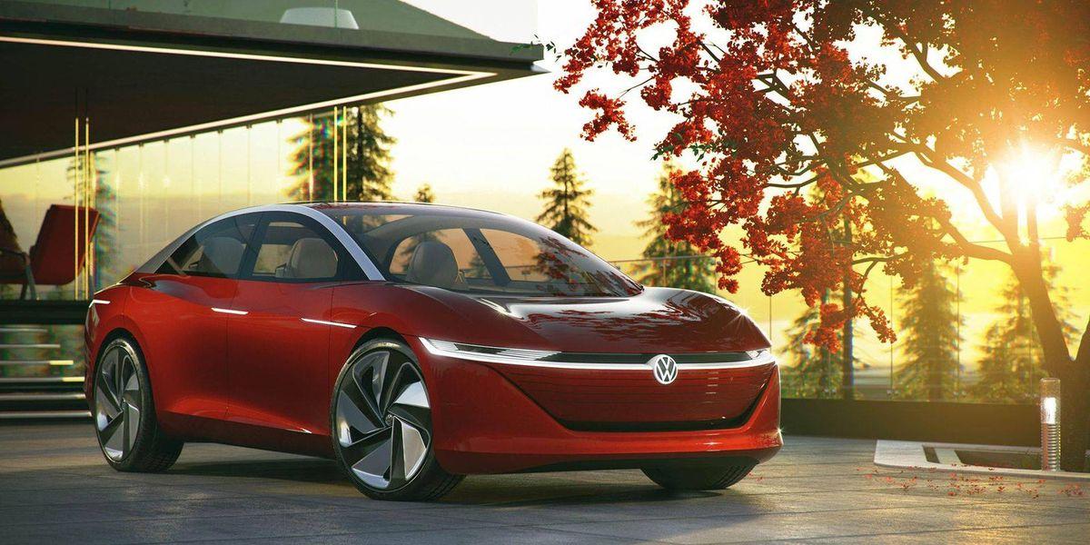 Volkswagen presenta el I.D. Vizzion con 665 km de autonomía /